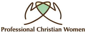 Professional Christian Women Mobile Logo