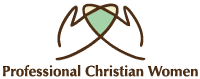 Professional Christian Women Sticky Logo